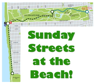 Sunday Streets at the Beach!