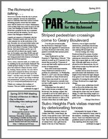 Spring 2015 PAR Newsletter cover