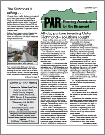 Summer 2014 PAR Newsletter cover