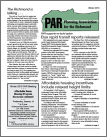 Winter 2016 PAR Newsletter cover