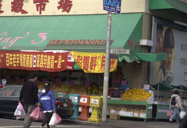 Clement St Market