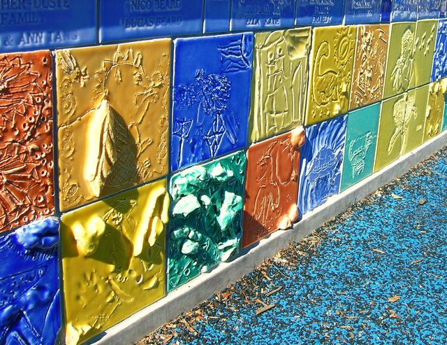 Tile Wall - Library Playground